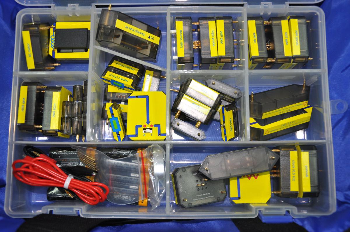 Bộ thí nghiệm điện cho cấp THCS - Model: GF005D
